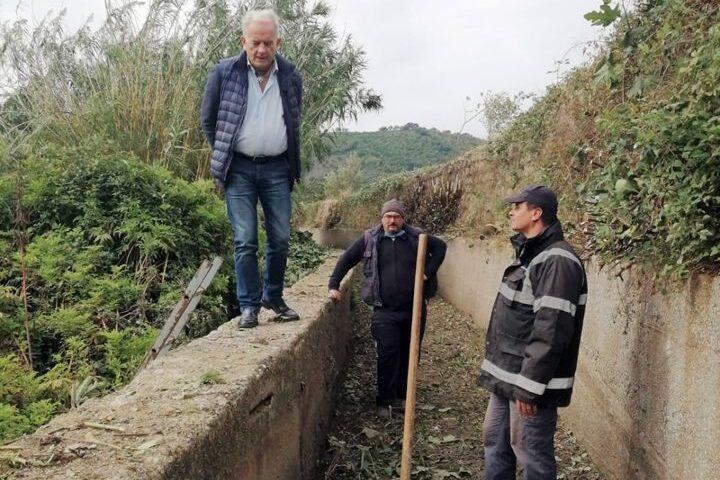 STOP ALLAGAMENTI: OPERAZIONE DI BONIFICA DEI CANALI PRESENTI A ROCCAPIEMONTE