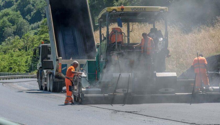 A Roscigno i lavori di messa in sicurezza sulla SR 418